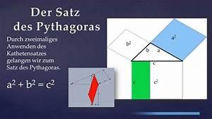 Satz Des Pythagoras A Berechnen : beweis kathetensatz und satz des pythagoras youtube ~ Themetempest.com Abrechnung