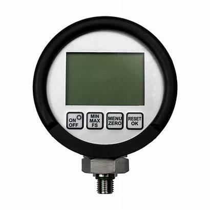 Gauge Digital Pressure Test Psi Transparent 1500