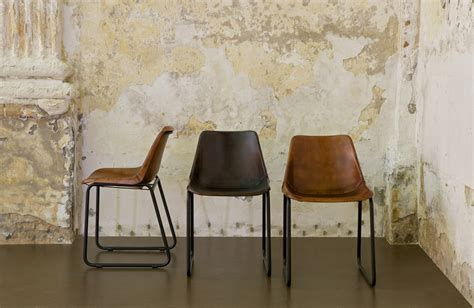 be dining chair leather camel color light