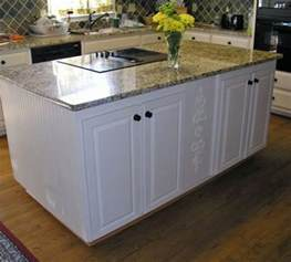 kitchen island bases build or remodel your custom kitchen island find eien