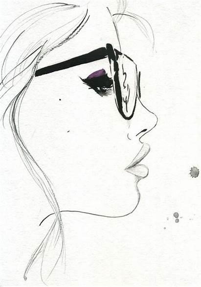 Drawings Illustration Self Nerd Drawing Profile Side