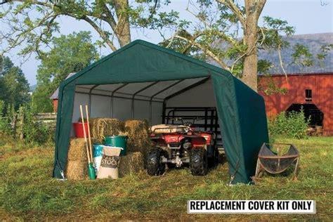 shelterlogic replacement cover kit peak green ebay