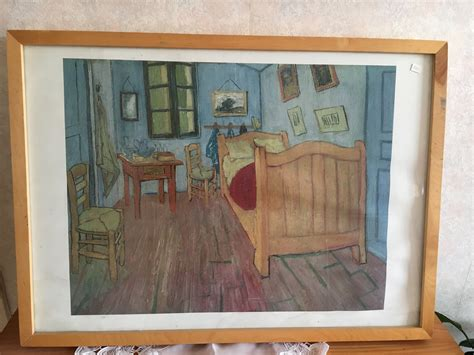 Gogh Bedroom At Arles by Bedroom At Arles By Vincent Gogh Print Retro House
