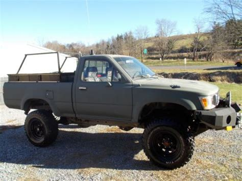 toyota hunting truck sell used 1992 toyota pickup bear hunting offroad in