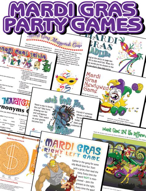 adult masquerade party games mardi gras printables review be your best