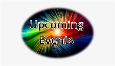 Coming Events - Announcements And Upcoming Events - Free ...