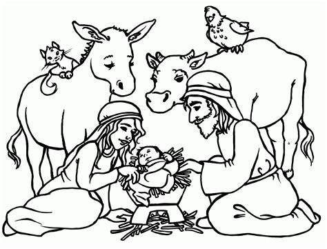 nascimento de jesus desenhos  colorir