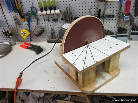 build  disk sander disc  big wood woodshop