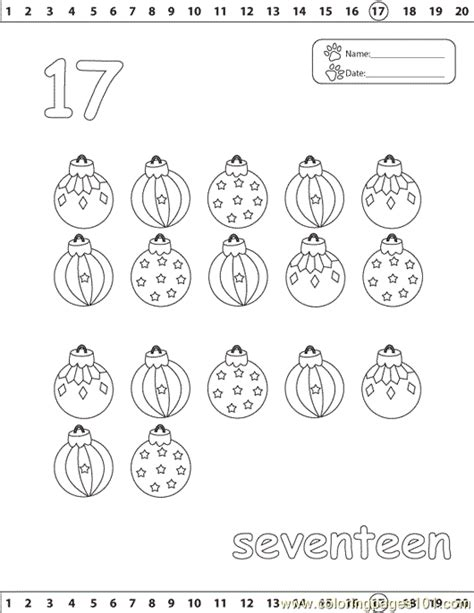 number coloring page  numbers coloring pages