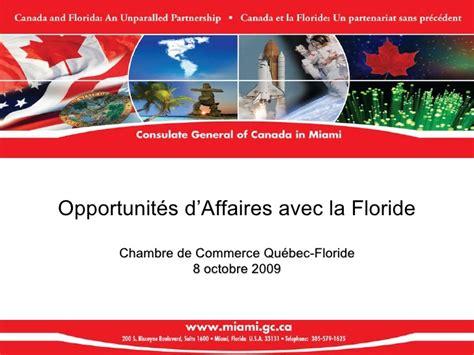 chambre de commerce floride profil de marché et opportunités d 39 affaires avec la floride