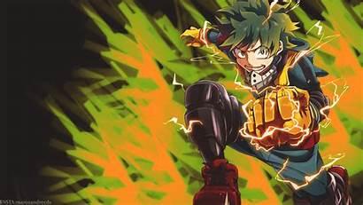 Academia Hero Anime Midoriya Izuku Deku Boku