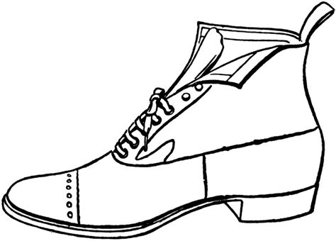 shoe clipart black and white shoes clip black and white clipart best