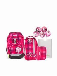 Badgarnitur 3 Tlg Set : ergobag schultasche set 6 tlg rhabarb r pink ~ Bigdaddyawards.com Haus und Dekorationen