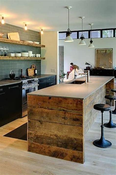 cuisine central la cuisine avec îlot central idées de décoration et design
