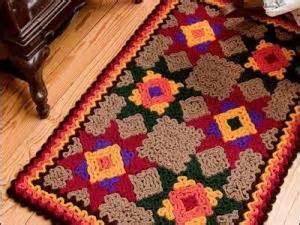 Tapis Au Crochet Tunisien by Tapis En Crochet Crochet Rugs Par Cestoutdudisou