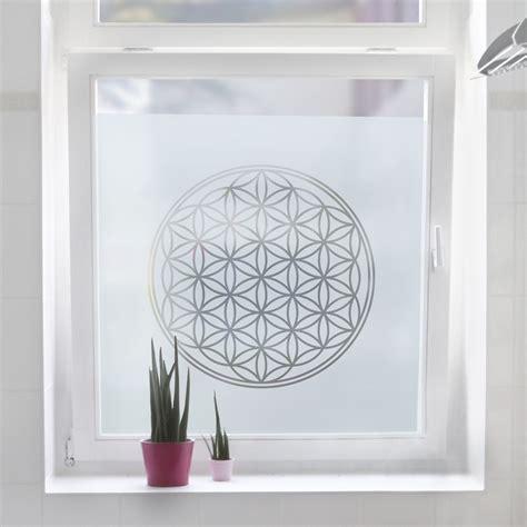 Fensterfolie Sichtschutz Milchglas by Fensterfolie Sichtschutzfolie Blume Des Lebens