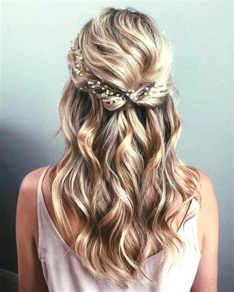 romantic wedding hairstyle trends   ecemella