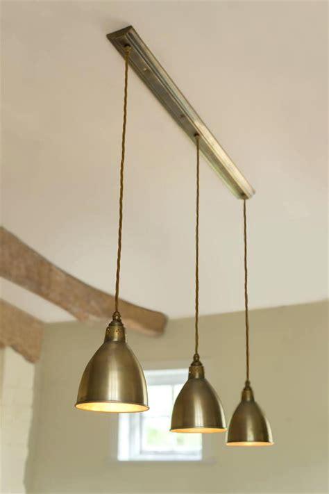 triple pendant light fitting bar ceiling track kitchen
