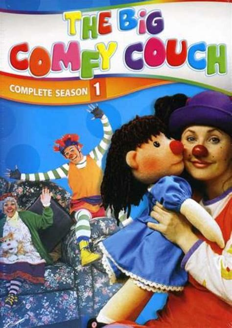 big comfy couch complete season   dvd