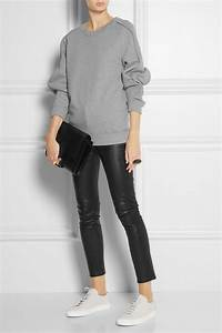 Chalayan sweatshirt. Relaxed outfit featuring oversized ...