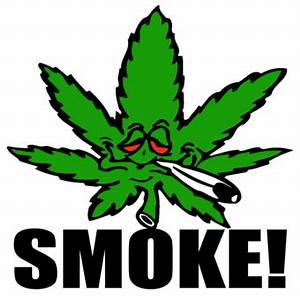 Cartoons Smoking Pot | SMOKE! Weed Leaf with Joint T ...