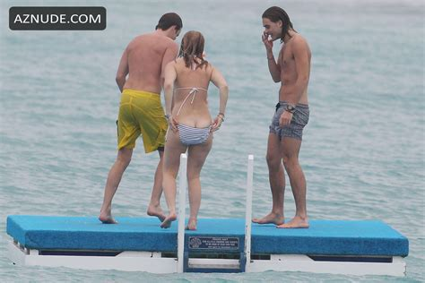 Alice Eve Enjoying Her Vacation On The Beach In Barbados December 2013 Aznude