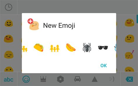 new emoji update for android swiftkey updated with new emoji for android 6 0 1