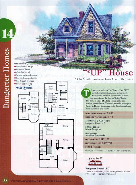 harmonious up house blueprints up house details