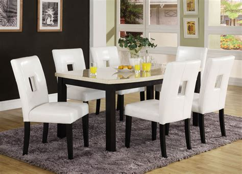 Interesting White Dining Room Sets For Sale