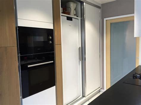 s駱aration cuisine ouverte meuble cuisine frigo armoire rfrigrateur et four rnovation cuisine facile avec v33 la peinture meuble cuisine carrelage mur et sol runit