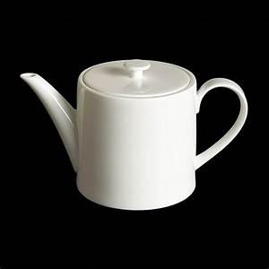 Dibbern Fine Bone China : dibbern fine bone china weiss teekanne zylindrisch 1 3 ltr ~ Watch28wear.com Haus und Dekorationen