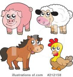 Free Farm Animal Clip Art