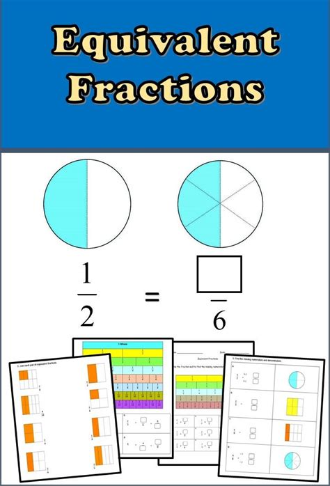 best 25 fractions worksheets ideas on math
