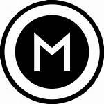 Round Icon Sign Svg Metro Pointer Metropolitan