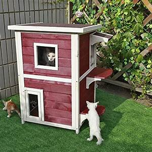 Top best 5 winter cat shelter for sale 2016 product for 2 story dog house for sale
