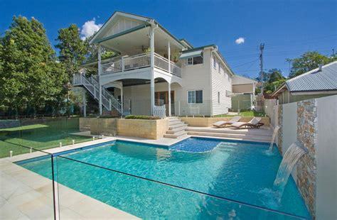 waterline pool tiles brisbane a touch of sand sandstone brisbane backyard completehome