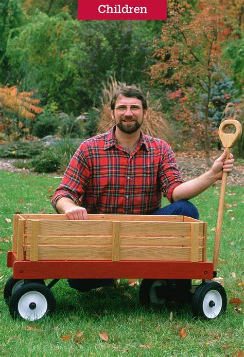 kids wooden wagon plans  wagon
