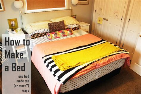 how to make a comforter how to make a bed different ideas with everyday bedding