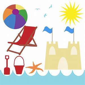 Beach Border Clip Art Free Awesome Graphic Library