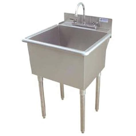 griffin lt 118 utility commercial sink stainless steel