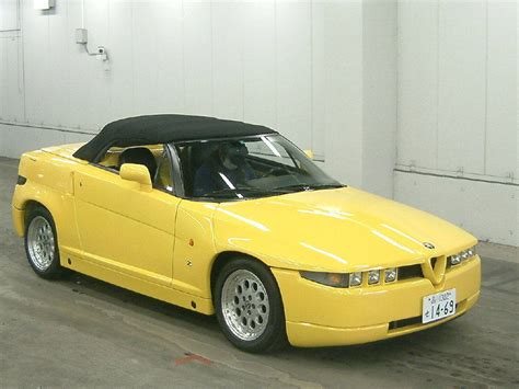 Japanese Car Auction Find Alfa Romeo Rz (zagatodesigned
