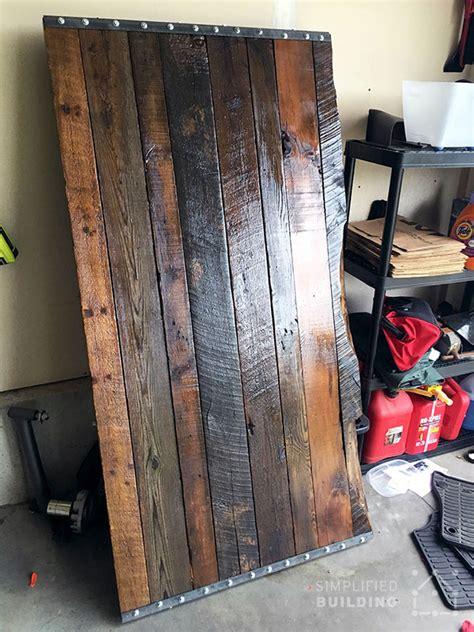 diy rustic desk plans  build