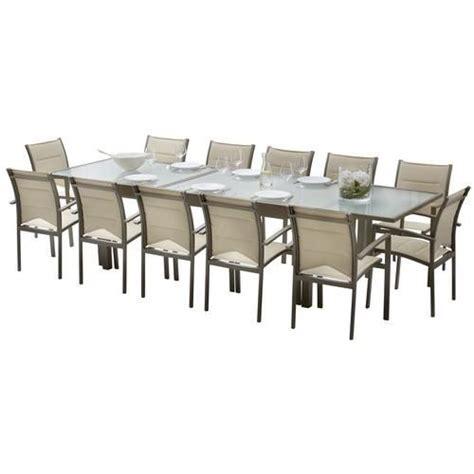 Table Verre 12 Personnes