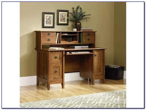 wood desk with hutch wood corner computer desk with hutch desk home design