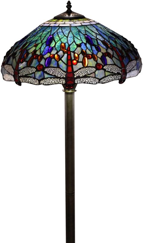 tiffany glass l shades floor l stained glass shade tiffany style dragonfly