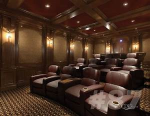 Luxury Theater Interiors - Traditional - Home Theater