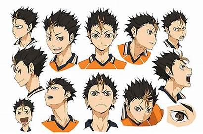 Haikyuu Character Nishinoya