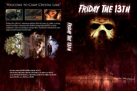 this is for the cover friday the 13th custom dvd cover by chrem88 on deviantart