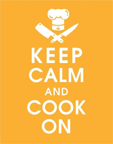 what can i cook with keep calm and cook