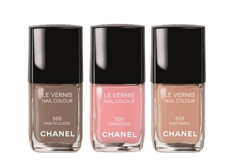 chanel 2010 le vernis nail colour collection beauty411